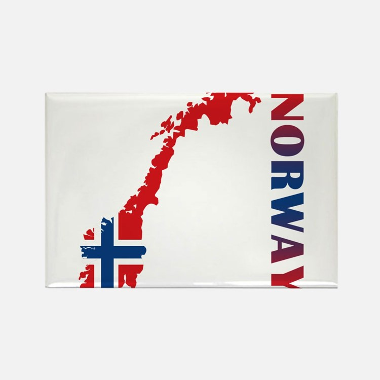 Cute Norway Rectangle Magnet