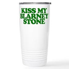 Kiss My Blarney Stone Travel Mug