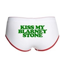 Kiss My Blarney Stone Women's Boy Brief