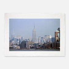 Empire State Building NYC Pro Photo 5'x7'Area Rug