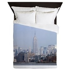 Empire State Building NYC Pro Photo Queen Duvet