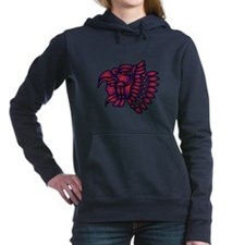 AZTEC WARRIOR Women's Hooded Sweatshirt