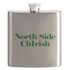 North Side ChIrish Flask