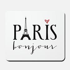 Paris bonjour Mousepad