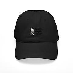 Henry David Thoreau 2 Baseball Hat