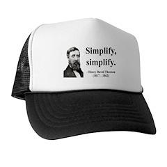 Henry David Thoreau 2 Trucker Hat