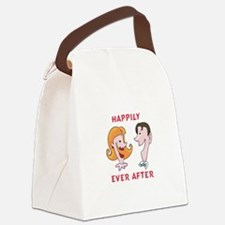 Happily Ever After Canvas Lunch Bag