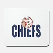 CHIEFS MASCOT Mousepad