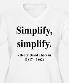 Henry David Thoreau 2 T-Shirt
