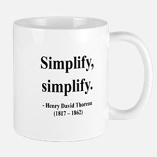 Henry David Thoreau 2 Mug