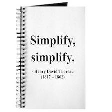 Henry David Thoreau 2 Journal