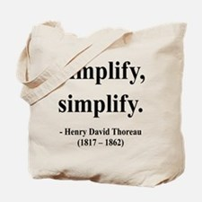 Henry David Thoreau 2 Tote Bag