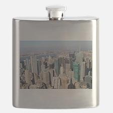 New York City USA Pro Photo Flask