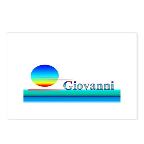 Giovanni Postcards (Package of 8)