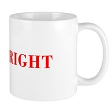 Mr Right-Bod red Mugs