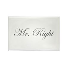 Mr Right-Edw gray Magnets