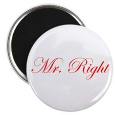 Mr Right-Edw red Magnets