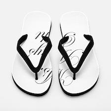 Ms Always Right-Edw gray Flip Flops