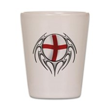tribal England 2 (T).png Shot Glass