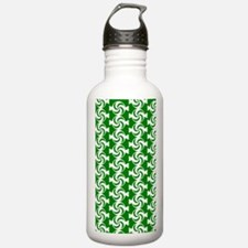 Green and White Sweet Water Bottle