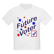 Future Voter Kids Light T-Shirt