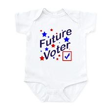 Future Voter Kids Light Onesie