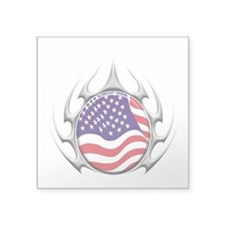 Tribal Spider USA (T).png Sticker