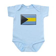 Bahamas Flag Body Suit