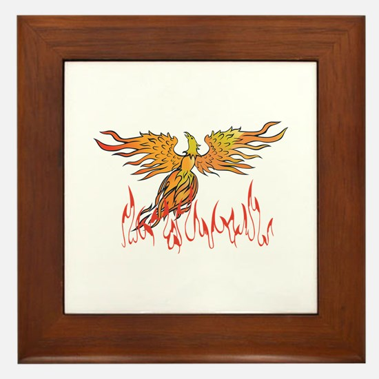 PHOENIX BIRD Framed Tile