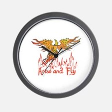 ARISE AND FLY Wall Clock