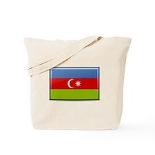 Azerbaijan Flag Tote Bag