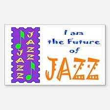 Future of Jazz Kids Light Rectangle Decal