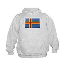 Aland Islands Flag Hoodie