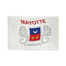 Mayotte Flag 2 Rectangle Magnet (100 pack)