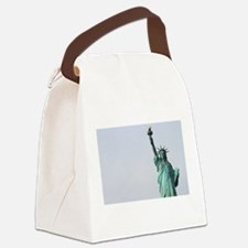 The Statue of Liberty NYC Pro pho Canvas Lunch Bag