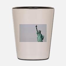 The Statue of Liberty NYC Pro photo Shot Glass