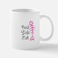 REEL GIRLS FISH Mugs