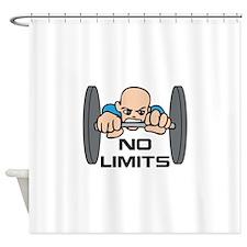 NO LIMITS Shower Curtain