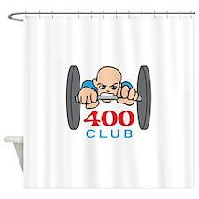 FOUR HUNDRED CLUB Shower Curtain
