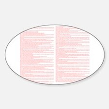 Top 100 Bible Verses 3 white Decal
