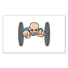 WEIGHT LIFTER Decal