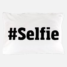 #Selfie Pillow Case