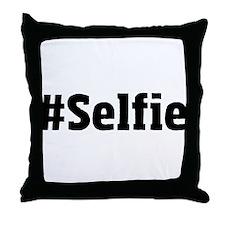 #Selfie Throw Pillow
