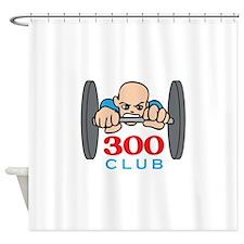THREE HUNDRED CLUB Shower Curtain