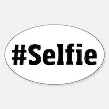 #Selfie Decal