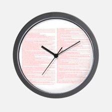 Top 100 Bible Verses 4 Wall Clock
