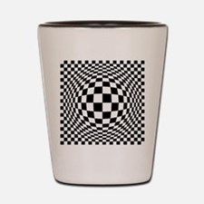 Expanded Optical Check Shot Glass