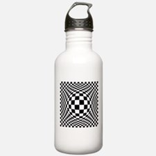 Expanded Optical Check Water Bottle