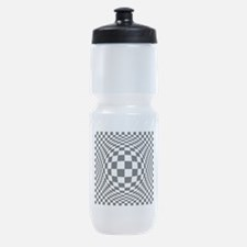 Expanded Optical Check Sports Bottle