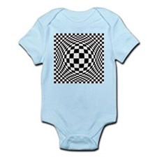 Expanded Optical Check Body Suit